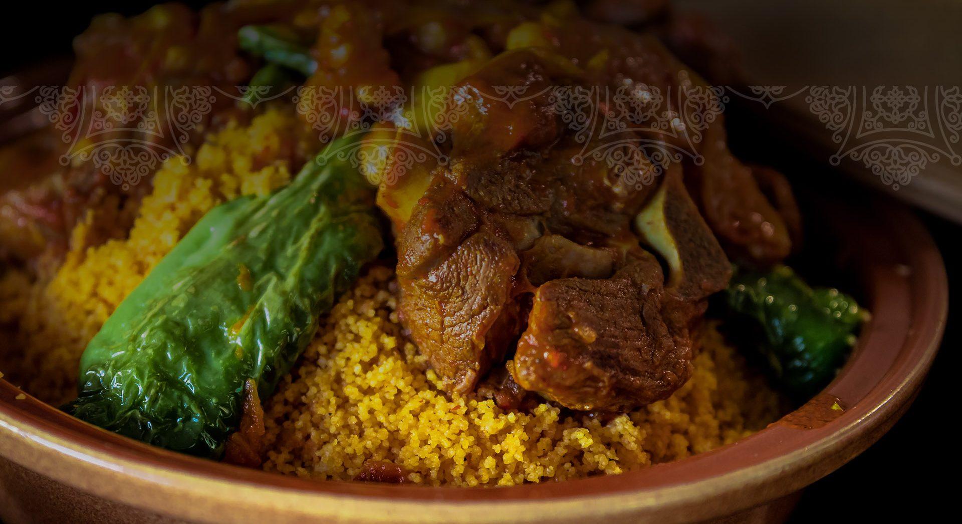 Restaurant de couscous oriental